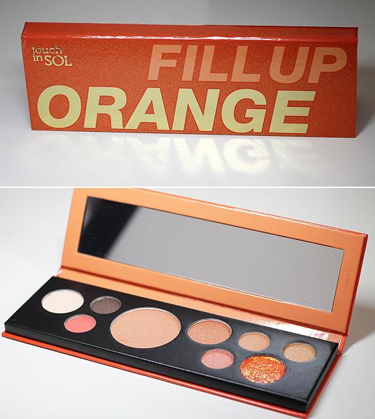 (Touch in SOL) Fill Up Orange Lidschattenpalette