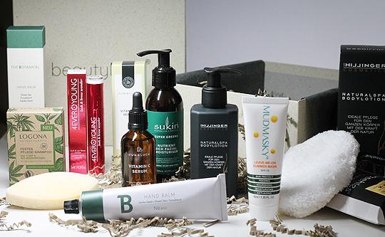 The Natural Box Juni/Juli 2020 von BeautyLove