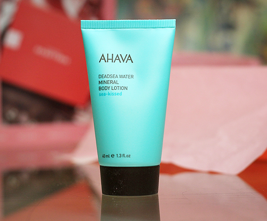 (Ahava) Sea-kissed Deadsea Mineral Body Lotion