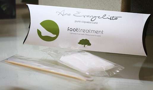 (Ana Evangelista) Foot Treatment