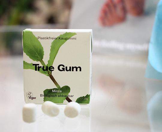 (True Gum) Plastikfreier Kaugummi Minze