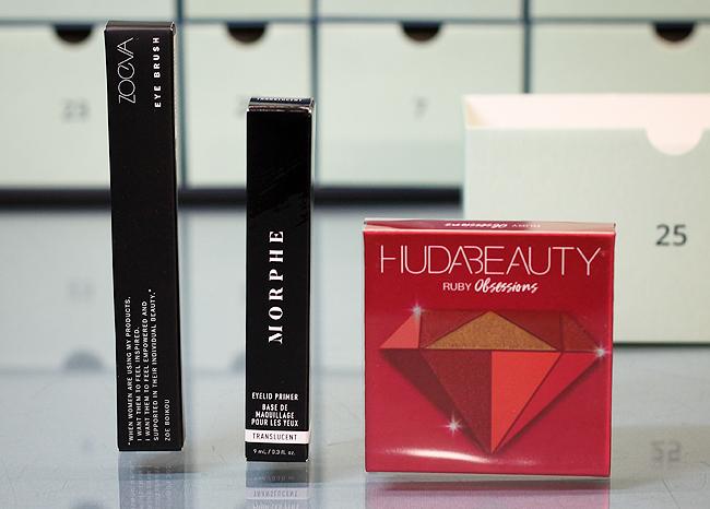 Kästchen Nr. 25: (Huda Beauty, Morphe, Zoeva) Make-Up-Mix