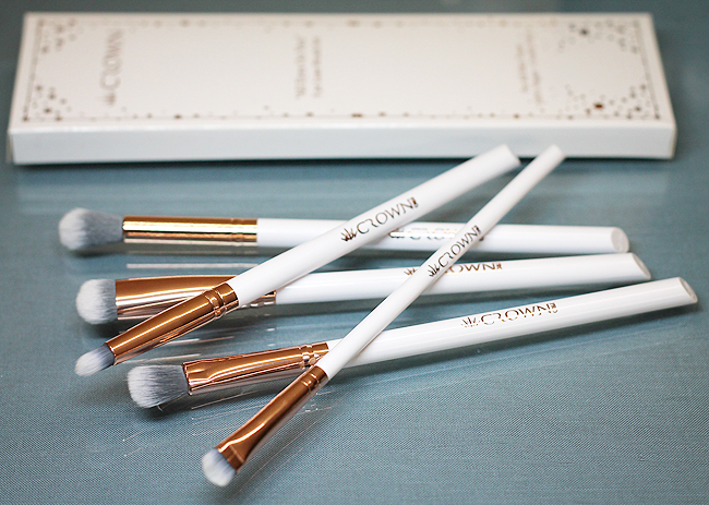[Crown] All Eyes On You 5pc Luxe Brush Set
