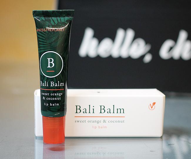 [Bali Balm] Sweet orange & coconut - Lip balm