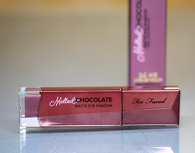 """[Too Faced] Melted Chocolate matte eye shadow in """"Chocolate Wine"""""""