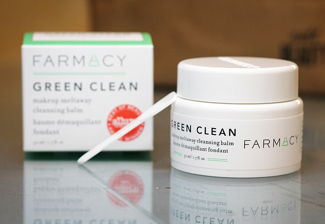 [Farmacy] Green Clean Make-up meltaway cleansing balm