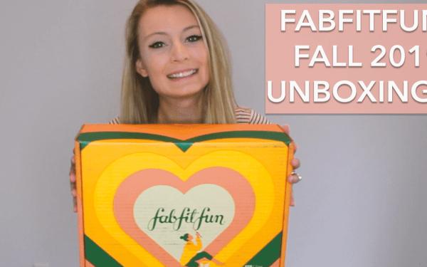 FabFitFun Fall 2019 Unboxing!
