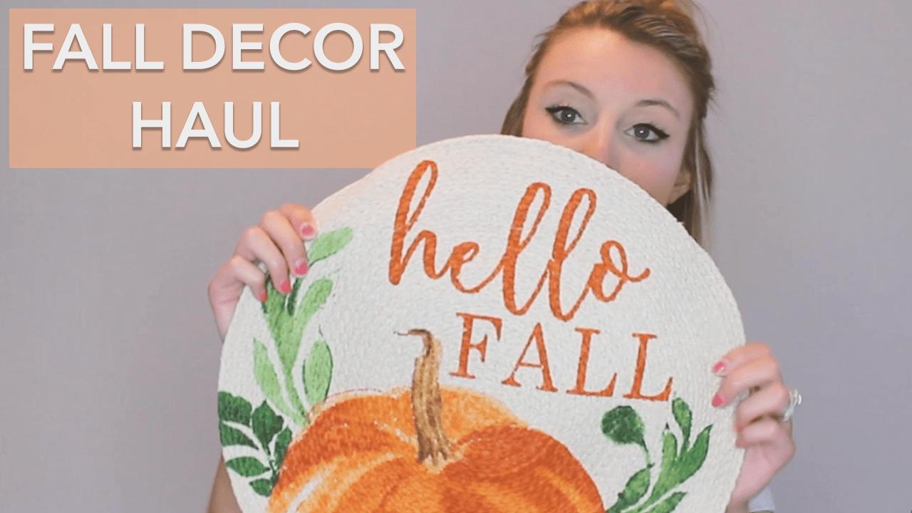 Fall Decor Haul | Christmas Tree Shop
