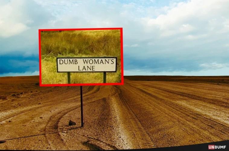 road signs umbumf 11