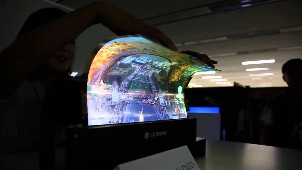 LG Rollable TV gadgets UnBumf