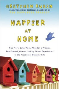 Happier at Home by Gretchen Rubin, a book on habit change