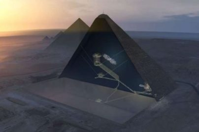 discovery pyramid chamber