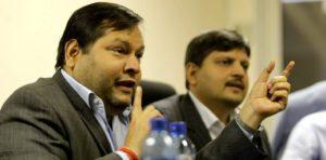 Indian businessmen Ajay and Atul Gupta