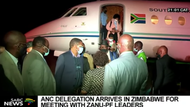 ANC delegation to Zimbabwe