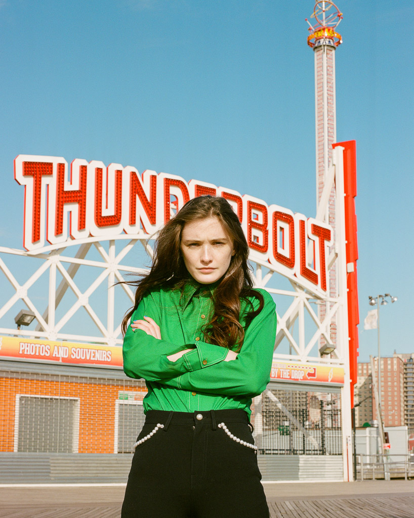 Alex Michael Kennedy Grace Dougherty Coney Island Uncertain Magazine Film Photography