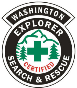 Explorer Search and Rescue badge
