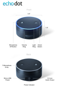 The Echo Dot, or Baby Echo