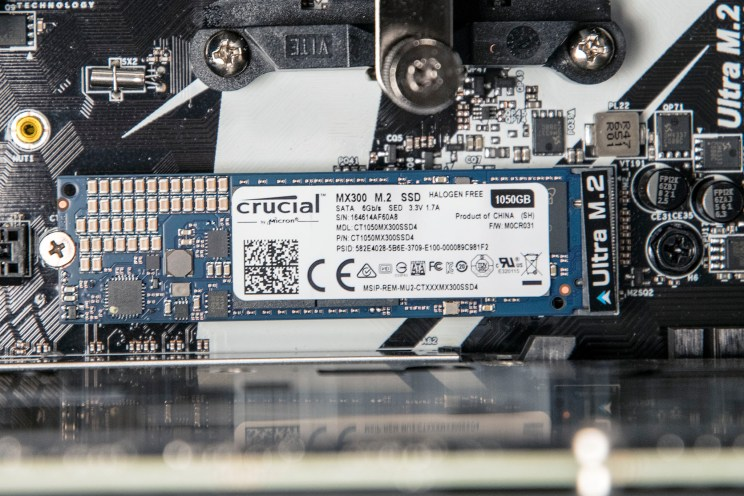 Crucial MX300 M.2 SSD