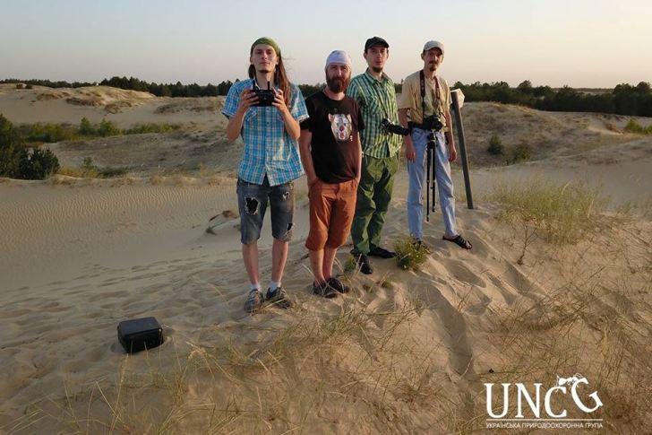 Готуємо відеоролик про НПП «Олешківські піски»