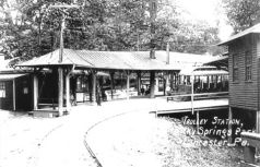 Rocky Springs Park Trolley Station