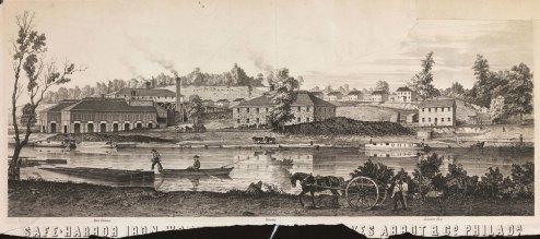 Safe-Harbor Iron [Works, Reeves,] Abbot & Co. Philada.
