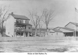 House at Safe Harbor, Pa