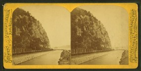 Stereo-view of Chickies Rock