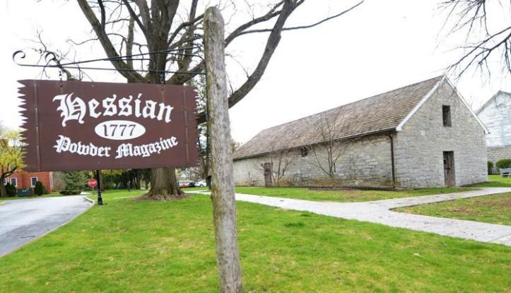 Hessian Guard House, built 1777, Carlisle Barracks, Carlisle, PA