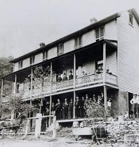 Shenks Ferry Hotel, circa 1900.
