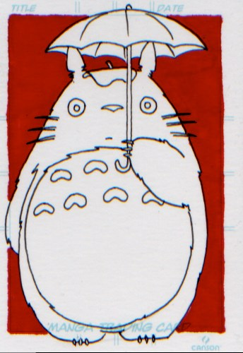 My Neighbor Totoro art