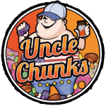 Uncle Chunks Logo Main - Distorted Edge