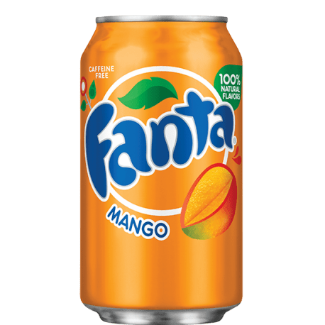 Can of Fanta Mango