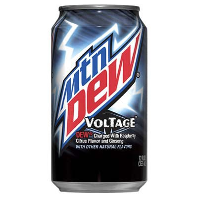 mountain dew voltage raspberry citrus soda
