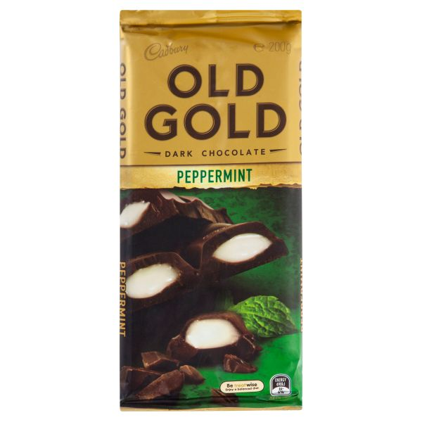 cadbury old gold dark chocolate peppermint 20 5907