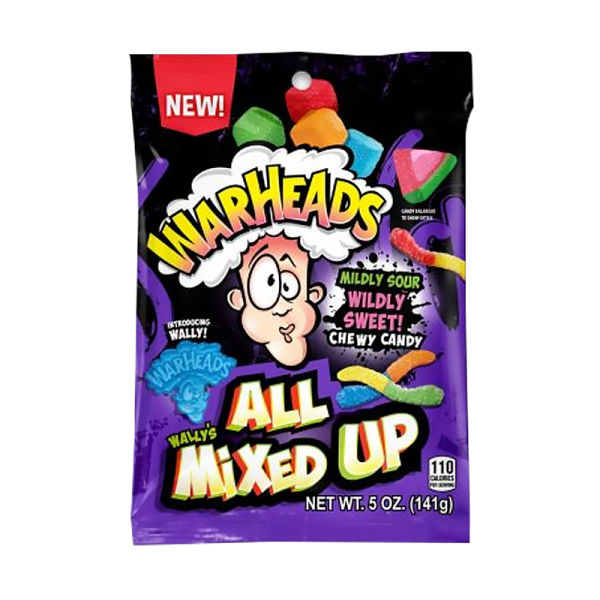 Bag of Warheads All Mixed Up Sweets