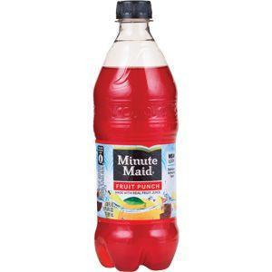 20z min maid fruit punch large