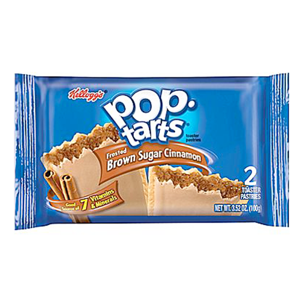 Pop Tarts Frosted Brown Sugar Cinnamon Twin Pack