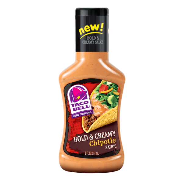 Taco Bell Bold & Creamy Chipotle Sauce