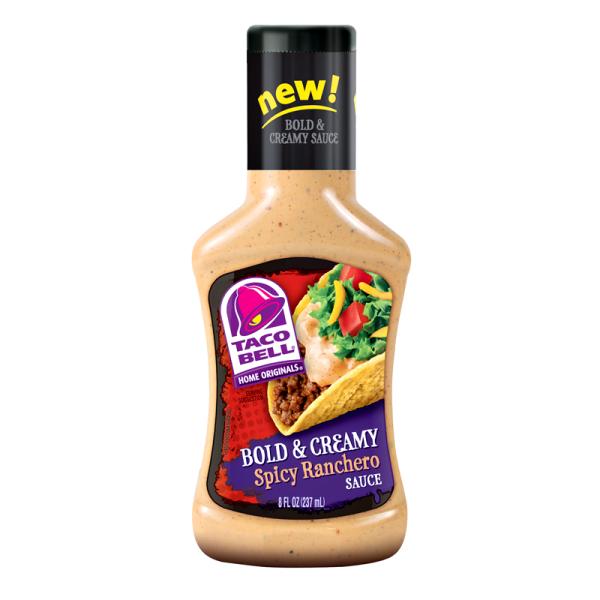 Taco Bell Bold & Creamy Spicy Ranchero Sauce