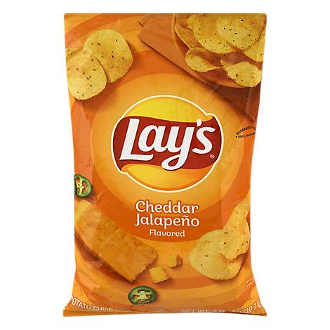 Lay's Cheddar Jalapeño