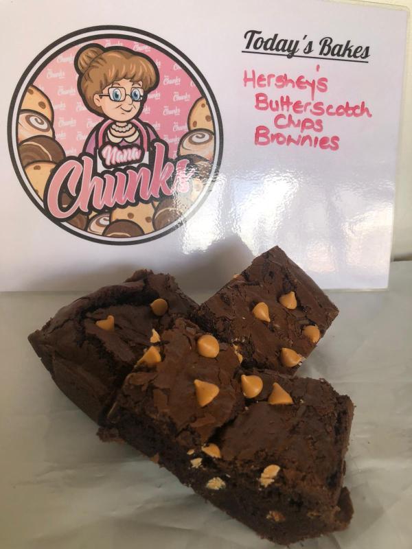 Nana Chunks Brownies Hershey's Butterscotch Chips