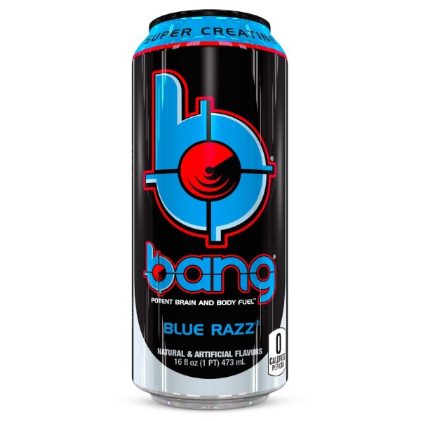 Can of Bang Energy Blue Razz