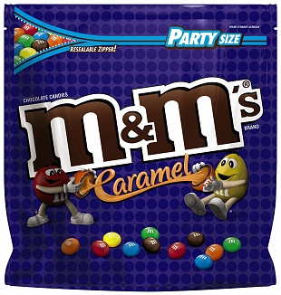 caramel m and ms