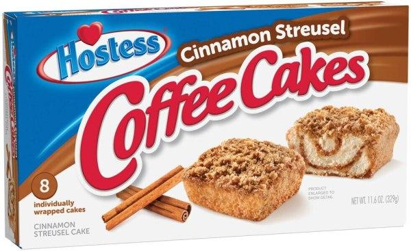Hostess Coffee Cakes 329g