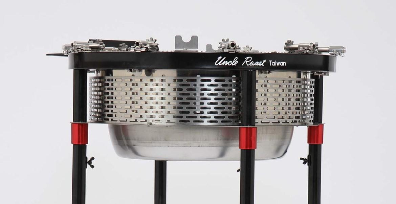 組裝操作教學- 放入配件 組裝 1300x670-Uncle Roast 夯伯燒烤爐 烤肉架 自動旋轉
