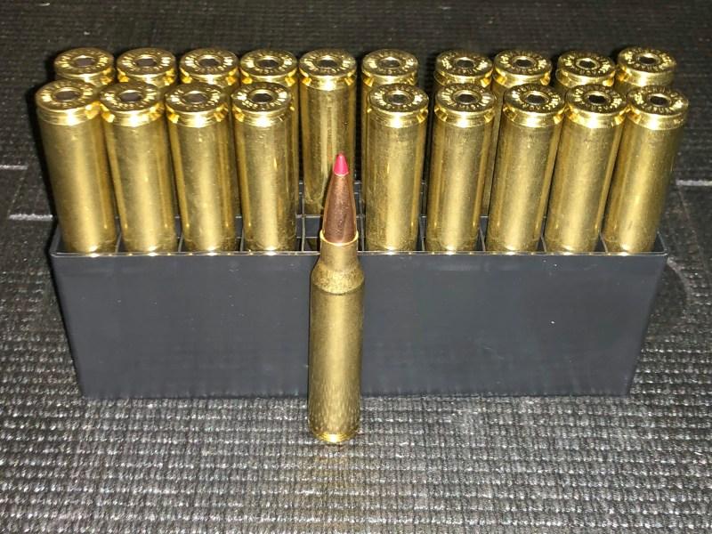 """.338 Lapua Magnum HPTB with """"tip"""""""