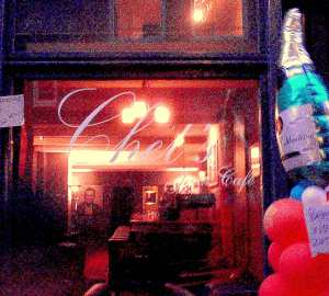 Chet's offers modern and experimental jazz, Italian-inspired wines, tapas and desserts.
