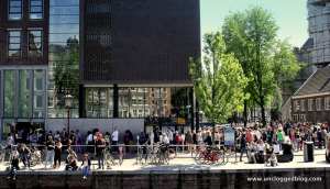 Avoid the inevitable line at Anne Frank's house by reserving online.