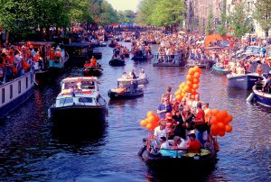 Whether it's the King's birthday or start of the cultural season, Amsterdammers love to party.
