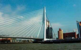 """Modern Rotterdam is known as """"Manhattan on the Maas; the magnifi"""